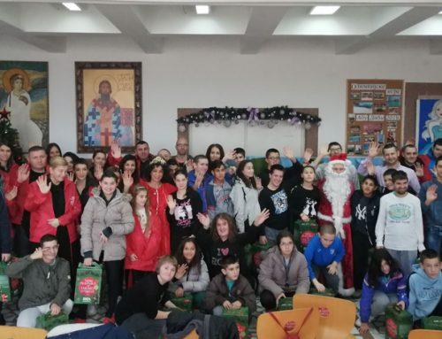 ИДЕА Новогодишњи караван стигао је и у нашу школу – 22. децембар 2019.