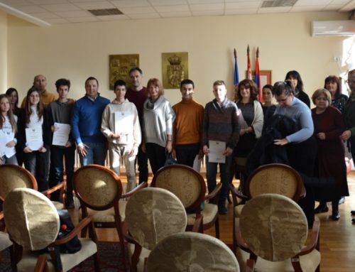 Награде ГО Чукарица учесницима републичких такмичења – 09.01.2020.