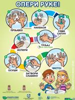 Опери руке! - Упутство за правилно прање руку