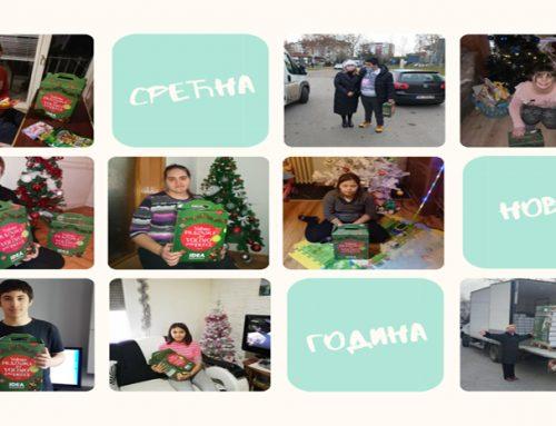 Новогодишњи караван пакетића стигао је до наших ученика – 31. децембар 2020.