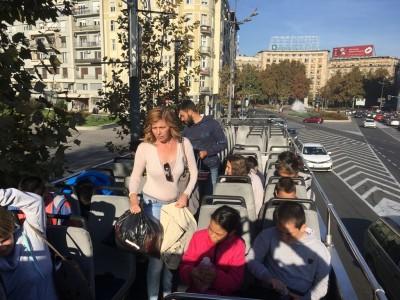 Разгледање Београда панорамским аутобусом - 21.10.2019.